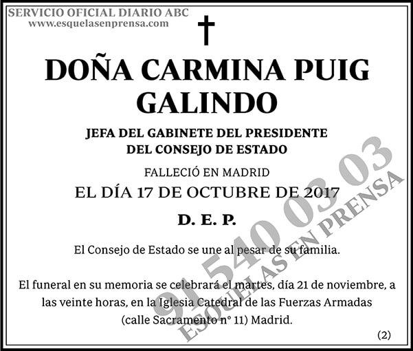 Carmina Puig Galindo
